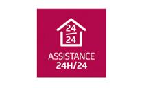 Assistance 24h/24